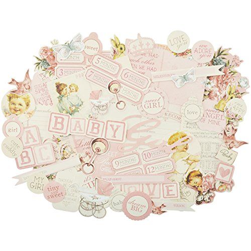 Kaisercraft Peek-A-Boo Collectables Cardstock Die-Cuts-Girl