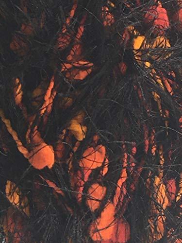 Fancy Fur Yarn-Jungle Print Black - Fur Fancy Yarn