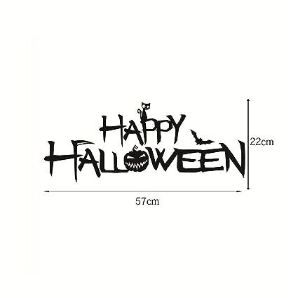 amazon com halloween decoration feccile happy halloween word sign