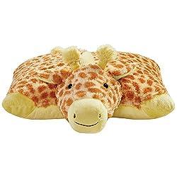 """Pillow Pets Signature, Jolly Giraffe, 18"""" Stuffed Animal Plush Toy"""