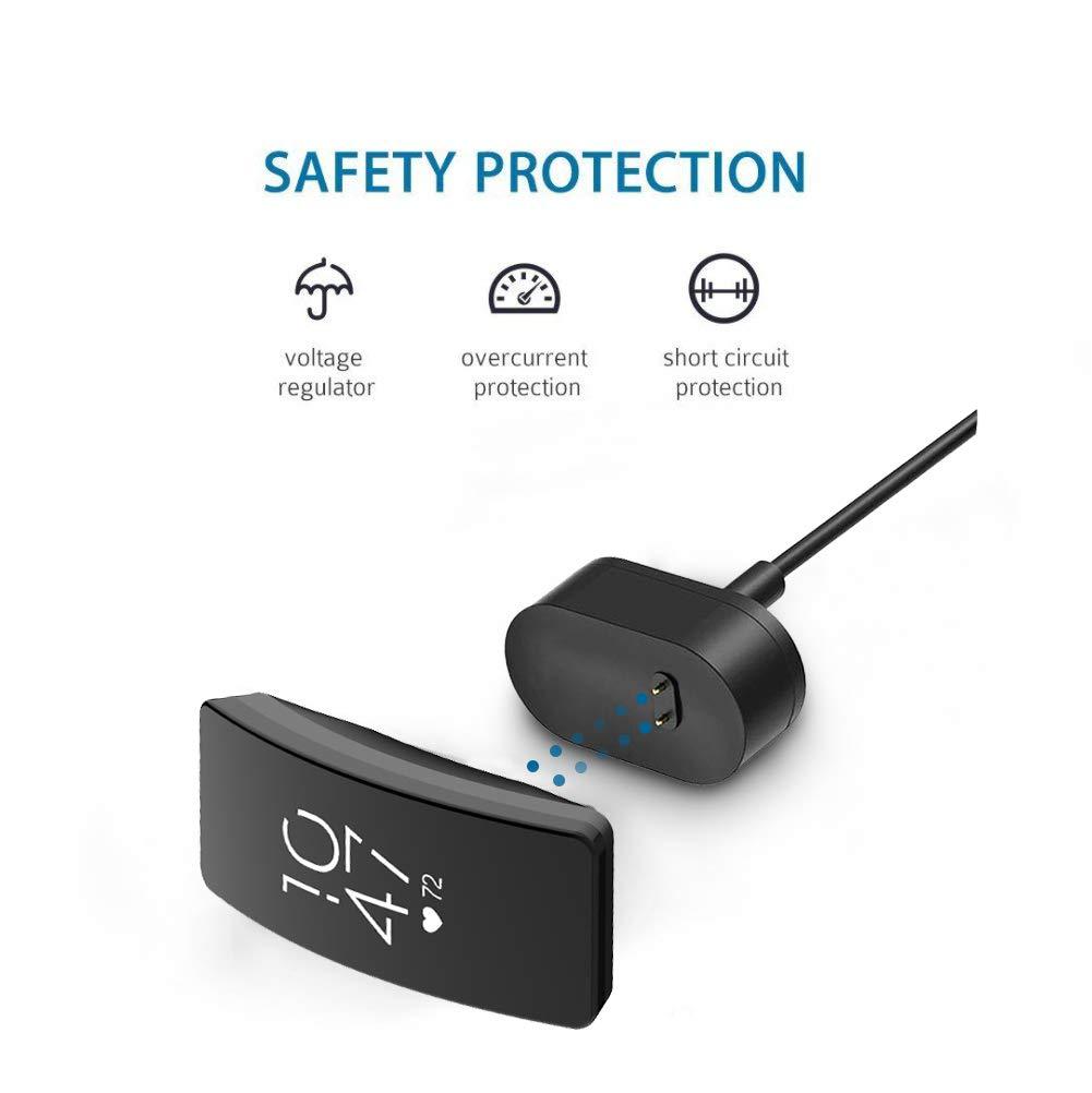 Cable de Carga USB de Repuesto Adaptador de Cargador para Fitbit Inspire-100cm 2 Piezas 30cm Simpeak Cargador Compatible con Fitbit Inspire//Inspire HR