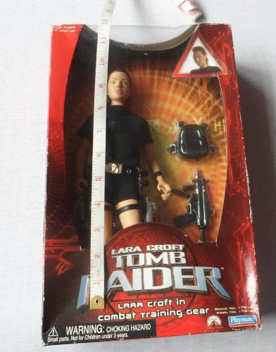 Lara Croft Tomb Raider in combat training gear by Playmates