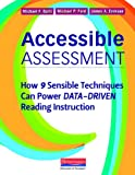 img - for Accessible Assessment: How 9 Sensible Techniques Can Power Data-Driven Reading Instruction book / textbook / text book