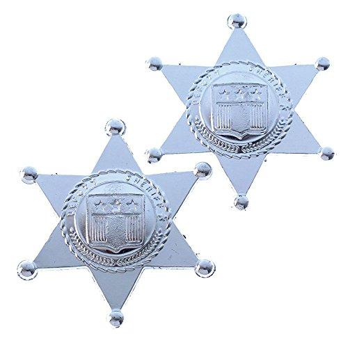 US Toy Toy Sheriff Badges (One Dozen Bag) Toy