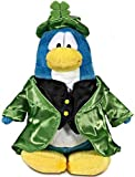 Disney Club Penguin 6.5 Inch Series 12 Plush Figure Leprechaun {Version 2} [Includes Coin with Code!]