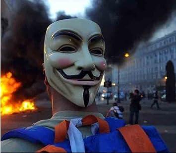 Anonymous Hackers Mask (adult size) (máscara/careta)