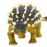 Geminismart Saichania Action Figure Ankylosaurus Jurassic World Park Dino Toys Green Science Educational Realistic Design Nail Art Dragon Dinosaur Figure Gift for Kids & Classroom Prize Supplies.