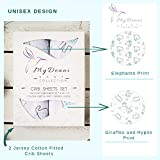 Crib Sheet Set 2 Pack - Ideal for Baby Boy or Baby