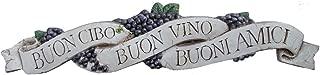 product image for Piazza Pisano Art by Al Pisano Italian Wall Decor Door Topper Buon Cibo Buon Vino Buoni Amici
