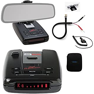 Sale Escort Passport S55 Pro Radar and Laser Detector with DSP (High-Intensity Red Display) and Complete Mirror Mount Kit