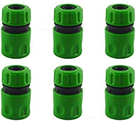 CZSYZCZS - Conectores de grifo de plástico para jardín, 6 conectores de manguera.: Amazon.es: Jardín