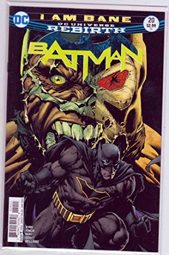 David Finch Cover - Batman #20 (2017) David Finch & Danny Miki Cover