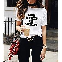 Blusa Playera Camiseta Dama Future Is Female Lv Elite #504