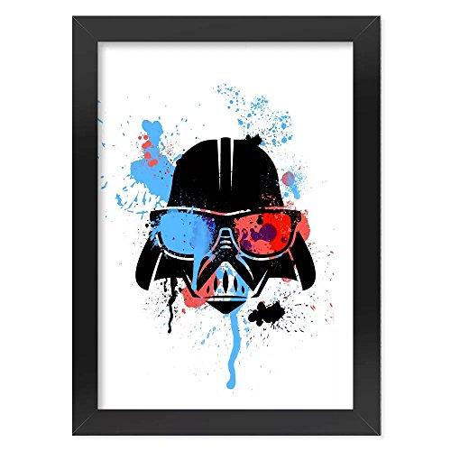 Pôster com Moldura Geek Side - Vader