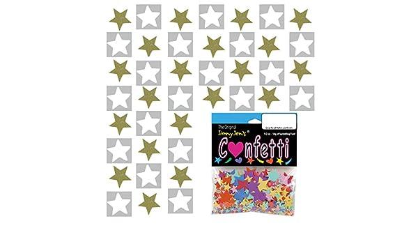 Half Pound Z-Barten Productions Confetti Star 1//4 Gold 8 oz 8522