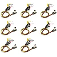 8 x Quantity of Walkera QR X350 PRO FPV FPV Transmitter Video Output AV USB Cable Wire & Power Lead