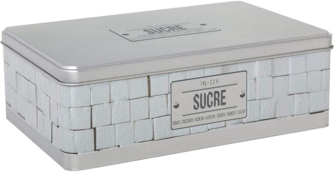 Caja de azúcar de marfil en relieve IV: Amazon.es: Hogar