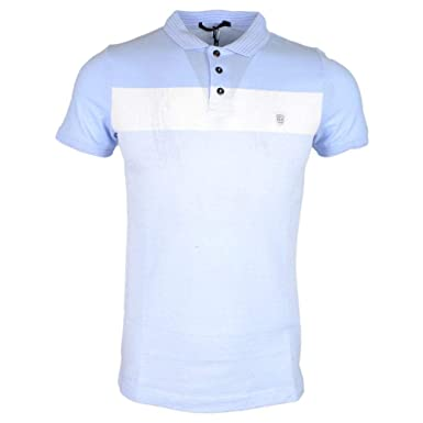 883 Police Knight Polo Shirt | Sky Blue Medium: Amazon.es: Ropa y ...