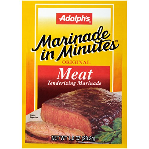 Adolph's Marinade In Minutes Meat Marinade, 1 oz (Case of 24) (Best Beef Chuck Roast)