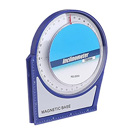 Hanumex� 100 mm Inclinometer Protractor Tilt Level Meter Angle Finder Clinometer with Magnetic Base