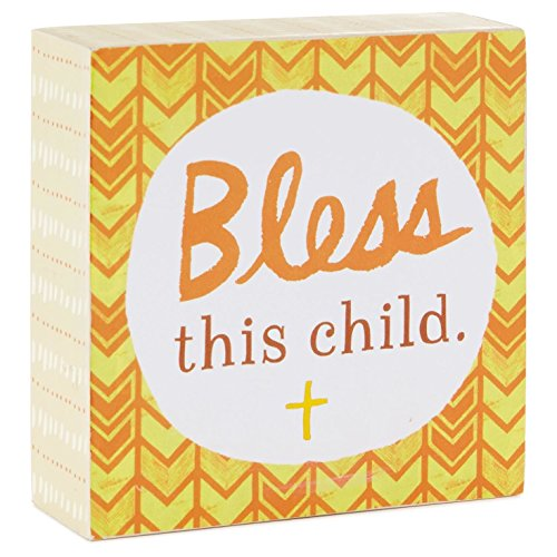 Hallmark Bless This Child Decorative Wooden Block by Hallmark
