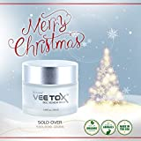 RENOVE VEE TOX Bee Venom Mask Anti-Aging Cream w/Manuka Honey (15+) – Organic & Natural Anti-Wrinkle Cream & Anti-Aging Cream to Help Improve Skin Elasticity, Ease Wrinkles & Purify Skin – 50 ml