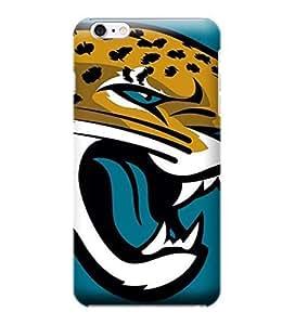 iPhone 6 Plus Case, NFL - Jacksonville Jaguars Large Logo - iPhone 6 Plus Case - High Quality PC Case