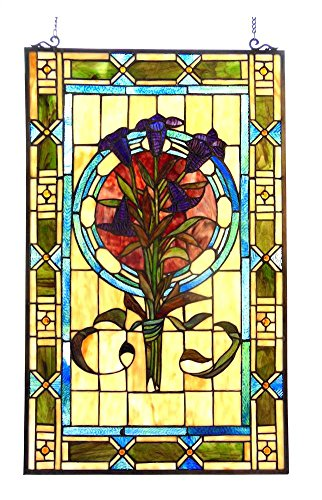 Tulips Glass Panel