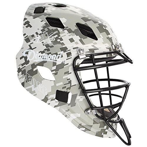 Diamond iX5 Edge Cathcher's Helmet Small - Dark Green Camo by Diamond