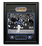 Jose Bautista Toronto Blue Jays Cut Autograph 2015 ALDS Bat Flip 23x19 Frame - Certified Authentic Autograph