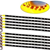 Kyпить 10X High Power Yellow Flexible Strip Car Motorcycle 2835 LED Lights Waterproof 60cm 12V на Amazon.com