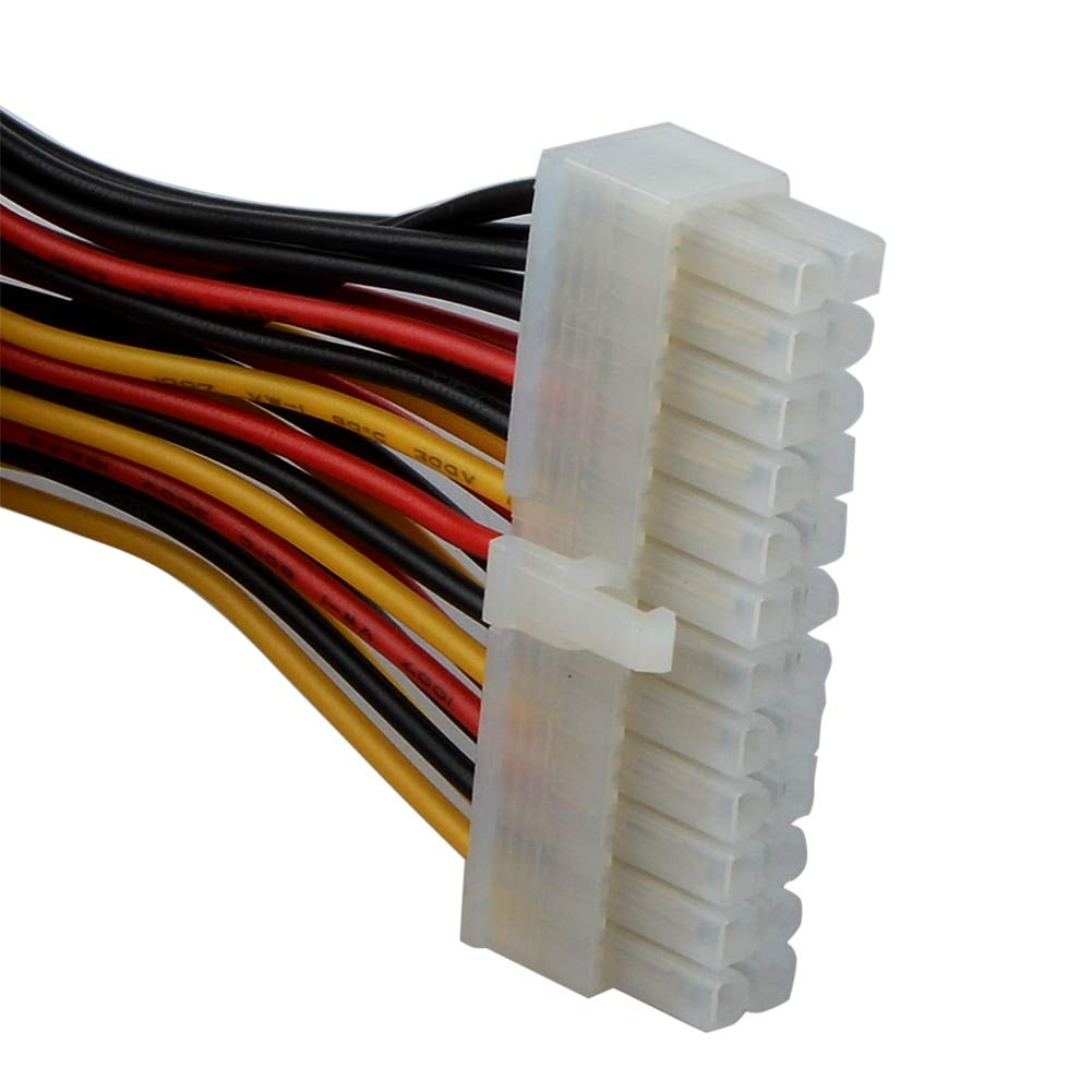 Cable Length: Other Computer Cables 15cm 20 Pin Female to 24 Pin Male Internal PC PSU Power Adaptor Cable