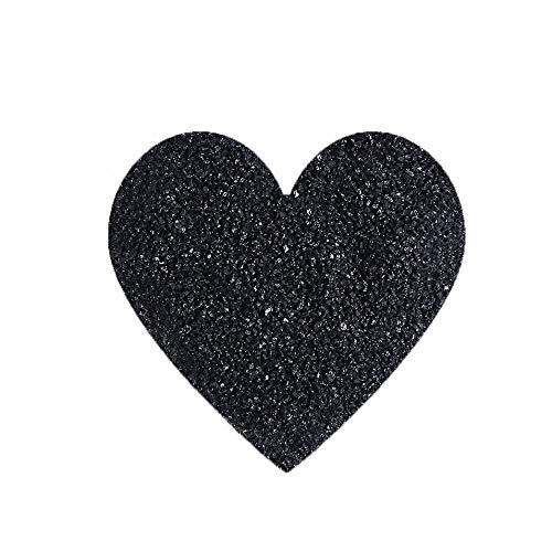 HermosaUKnight Nat/ürliches schwarzes Turmalin-Stein-Felsen-Mineralnaturstein-raues rohes K/örnchen