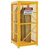 Global Vertical Cylinder Storage Cabinet - Assembled - 9-Cylinder Capacity
