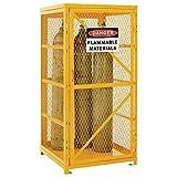 Global Vertical Cylinder Storage Cabinet - Unassembled - 9-Cylinder Capacity