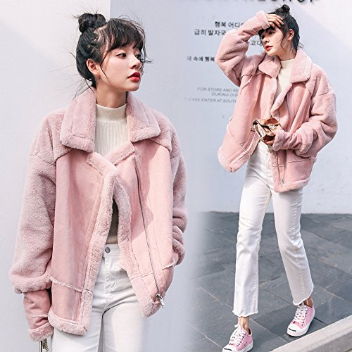 Warm Coat Thickening Loose Jacket Paragraph Winter Xuanku Pink Long Cotton Pink Women'S wtOvWItxq