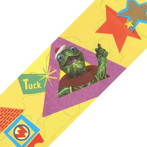 Nickelodeon Wonder Pets Yellow Tuck Linny Wallpaper Border Roll]()