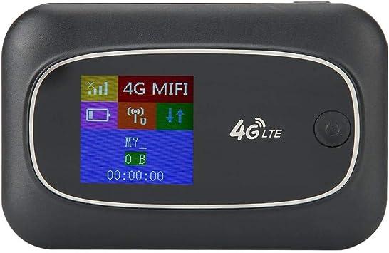 Hotspot WiFi móvil 4G LTE, USB 4G 150Mbps Router inalámbrico de Internet Desbloqueado Dispositivos compatibles con 4G FDD-LTE / 4G TDD-LTE, Router ...