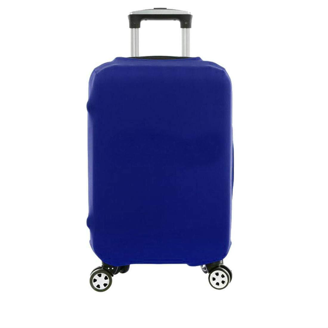 Blue Elastic Luggage Suitcase Bags Cover Protector Anti scratch 18'' 20'' 22'' 24'' 28'' (L - (26''-30''))