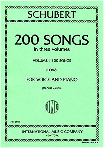 (200 Songs for Voice and Piano: Vol. 1: 100 Songs, Low)