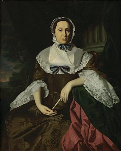 Eat Your Heart Out Origin (The High Quality Polyster Canvas Of Oil Painting 'John Singleton Copley,Mrs.John Barrett,about 1758' ,size: 18x23 Inch / 46x57 Cm ,this High Resolution Art Decorative Canvas Prints Is Fit For Game Room Decor And Home Decor And Gifts)