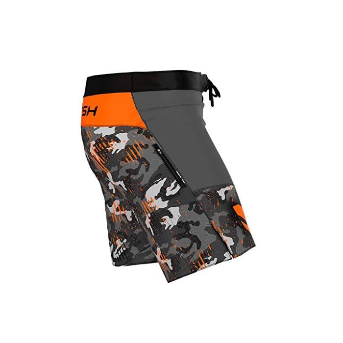 51K6hgT20PL ¡Ropa profesional para las artes marciales! Ideal como pantalones deportivos para hombres para el entrenamiento de MMA, BJJ, agarre, krav magá. Se pueden usar como pantalones cortos universales para el gimnasio y el entrenamiento cruzado. ¡Todos los productos manufacturados en Europa y con una alta calidad garantizada! El material de rendimiento térmico, del que están hechas las mallas, absorbe el sudor y evapora rápidamente la humedad incluso durante un entrenamiento intenso, también el material ligero y transpirable garantiza un secado rápido, incluso cuando se sumerge completamente en el agua. La tecnología de SEGUNDA PIEL garantiza un ajuste perfecto, libertad de movimiento ilimitada y una aspecto atractivo.