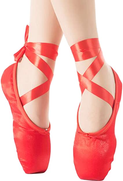 George Jimmy Red Dance Ballet Slippers
