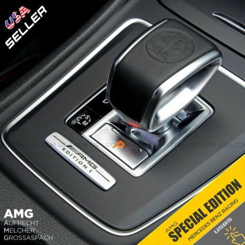 US85Mercedes-Benz 3D AMG Edition Emblem Interior Decal Sticker Badge Decoration Logo Accessories