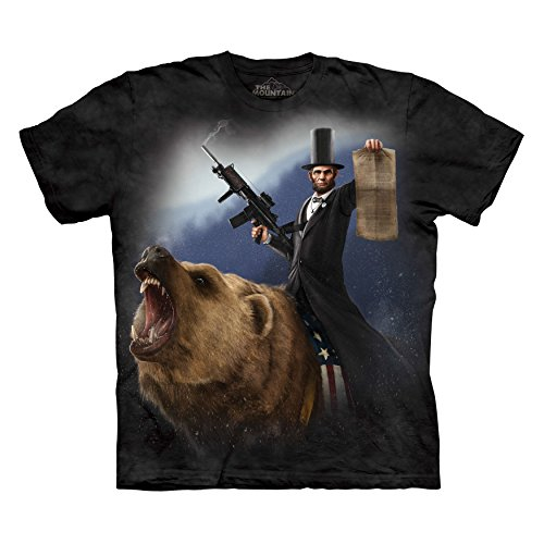 The Mountain Men's Lincoln The Emancipator T-Shirt Black S