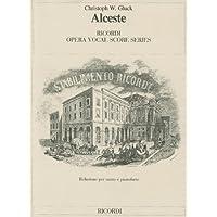 Alceste: Vocal Score (Ricordi Opera Vocal Score)