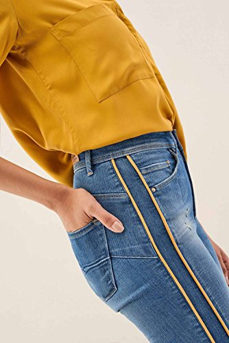 Con Pantaloni Blu Colorati Secret Salsa Laterali Glamour A8waPAxH