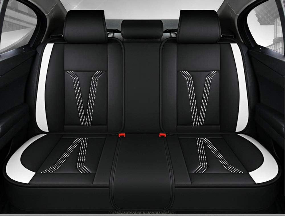 1+1 frontal elegante asiento del coche referencias piel sintética fundas para asientos color negro