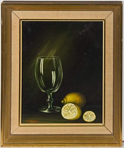 Jay Ward - Framed 20th Century Oil, Still Life with Lemons 20th Century Still Life