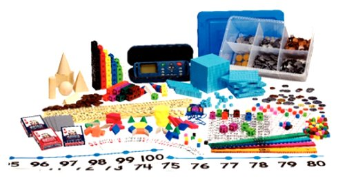 ETA hand2mind Manipulatives Kit for Use with Marilyn Burns Math and Nonfiction Book Series by ETA hand2mind